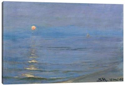 Summer Evening, Skagen, 1908 Canvas Art Print