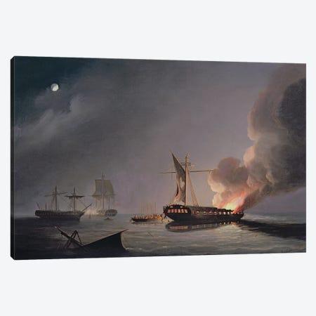 At Cadiz Canvas Print #BMN12115} by Thomas Buttersworth Canvas Print