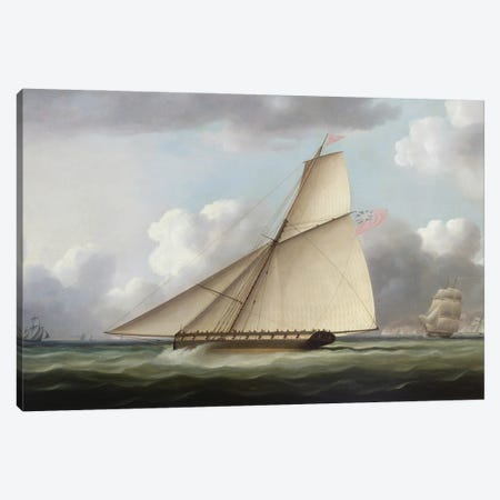 Marine Canvas Print #BMN12122} by Thomas Buttersworth Canvas Art Print