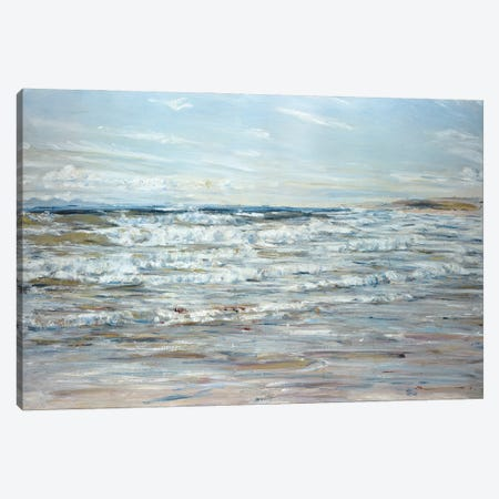And All The Choral Waters Sang Canvas Print #BMN12143} by William McTaggart Art Print