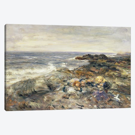 Flotsam And Jetsam Canvas Print #BMN12148} by William McTaggart Canvas Print