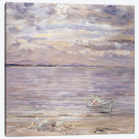 Noontide, Jovie's Neuk Canvas Print #BMN12152} by William McTaggart Canvas Art