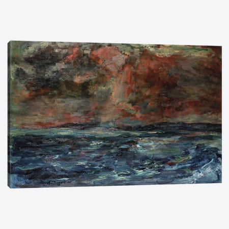 Storm Cloud Canvas Print #BMN12159} by William McTaggart Canvas Wall Art