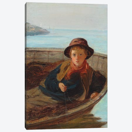 The Fisher Boy, 1870 Canvas Print #BMN12162} by William McTaggart Canvas Print