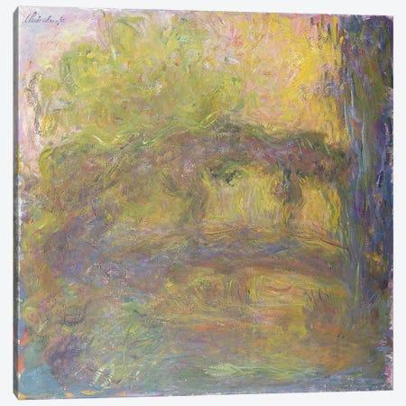 The Japanese Bridge, 1918-24 Canvas Print #BMN1218} by Claude Monet Canvas Art Print