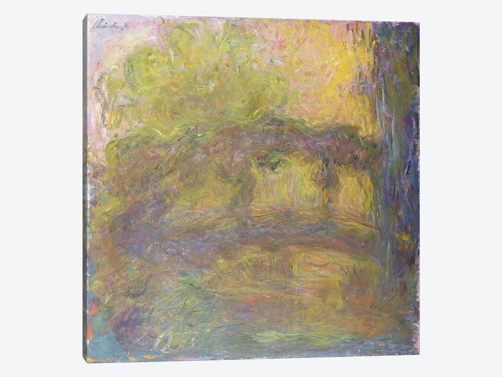 The Japanese Bridge, 1918-24 by Claude Monet 1-piece Art Print