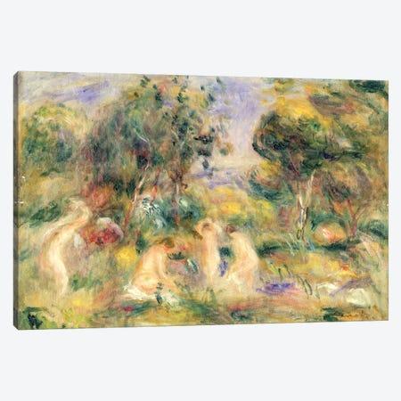 The Bathers Canvas Print #BMN1226} by Pierre-Auguste Renoir Canvas Art Print