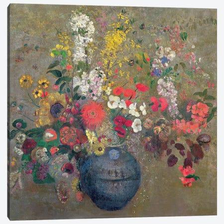 Flowers, 1909  Canvas Print #BMN1234} by Odilon Redon Canvas Wall Art