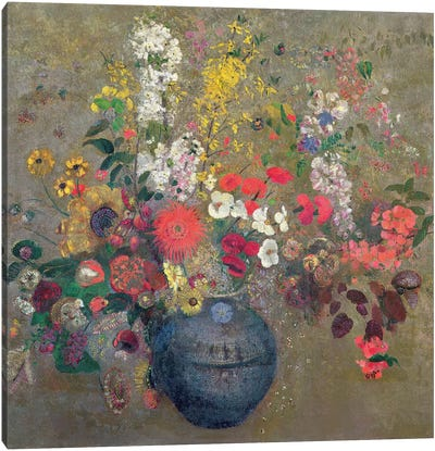 Flowers, 1909  Canvas Art Print