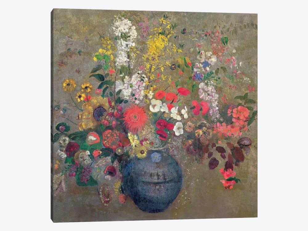 Flowers, 1909  by Odilon Redon 1-piece Art Print