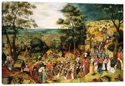 Christ on the Road to Calvary, 1607  Canvas Art Print