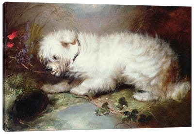 On the Watch, 1867 Canvas Art Print