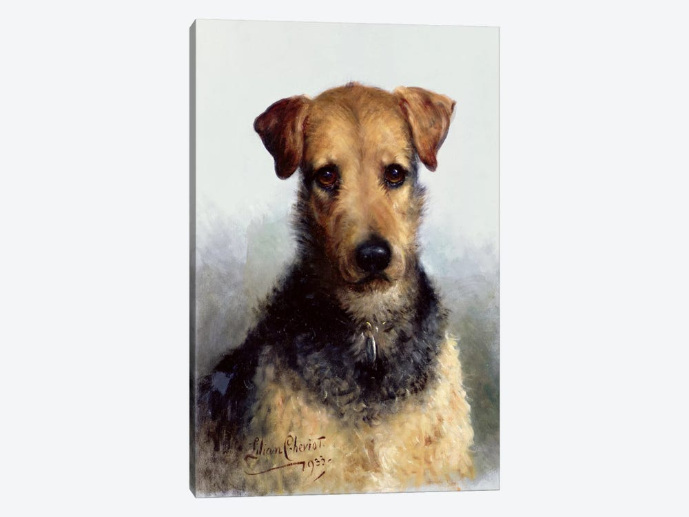 Wire Fox Terrier, 1933 by Lilian Cheviot 1-piece Canvas Artwork