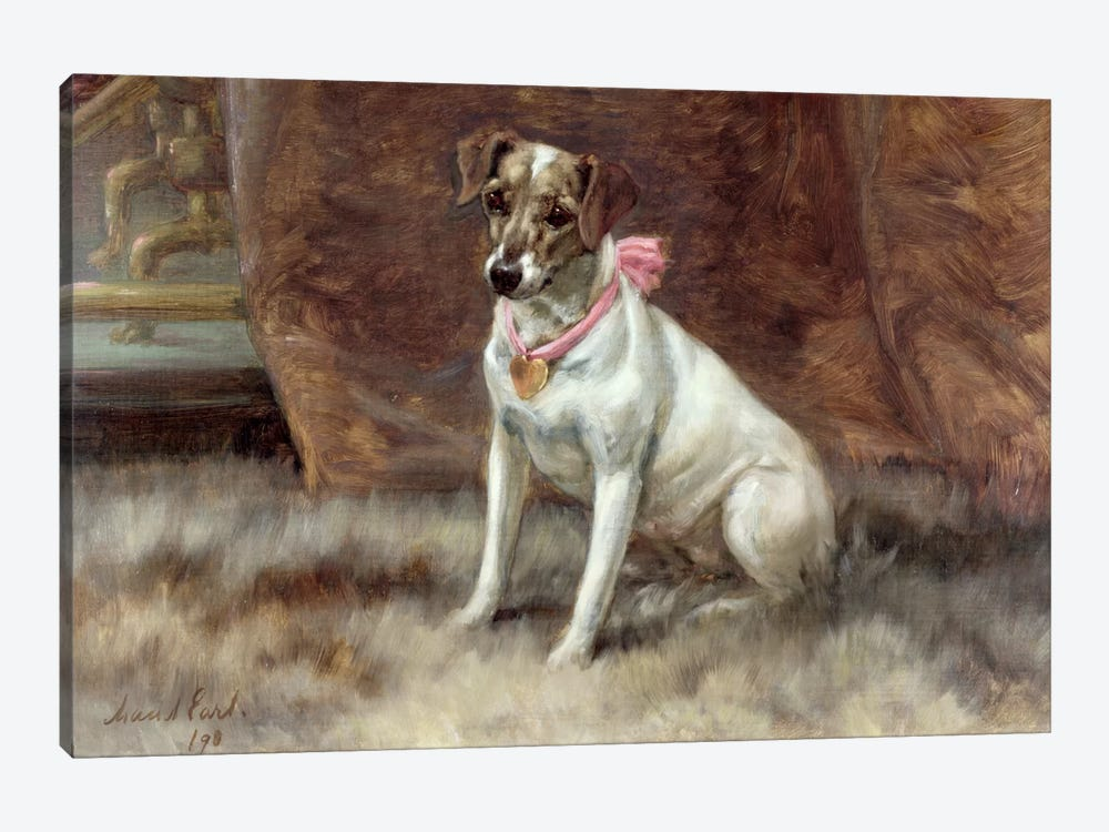 The Pink Bow, 1898 by Maud Earl 1-piece Art Print