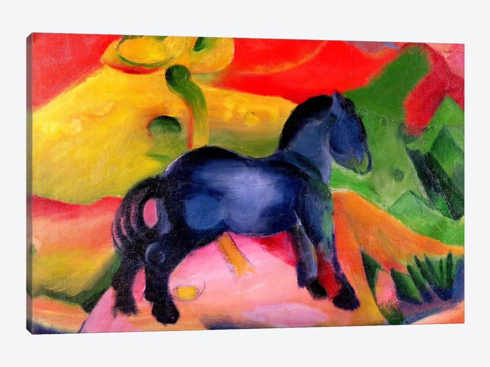 Little Blue Horse, 1912  by Franz Marc 1-piece Canvas Print