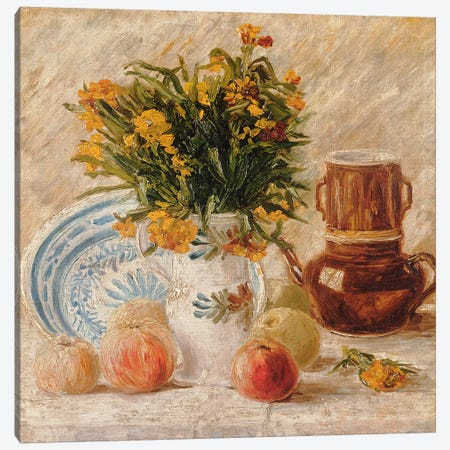Still Life, 1887  Canvas Print #BMN1266} by Vincent van Gogh Canvas Art Print
