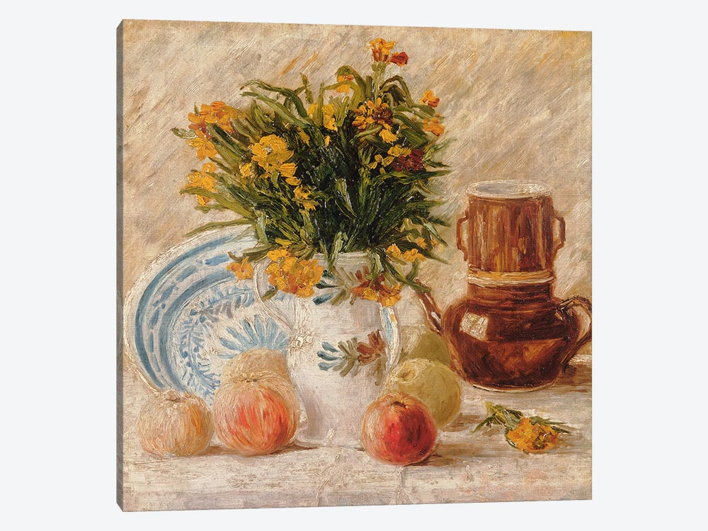 Still Life, 1887  by Vincent van Gogh 1-piece Canvas Artwork