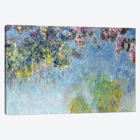 Wisteria, 1920-25 Canvas Print #BMN1269} by Claude Monet Canvas Artwork