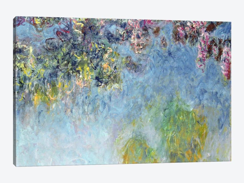 Wisteria, 1920-25 by Claude Monet 1-piece Canvas Print
