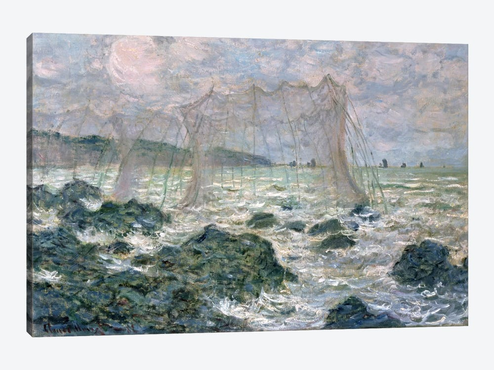 The Nets, 1882 by Claude Monet 1-piece Canvas Art Print