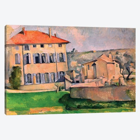 Jas de Bouffan, 1885-87  Canvas Print #BMN1271} by Paul Cezanne Canvas Print