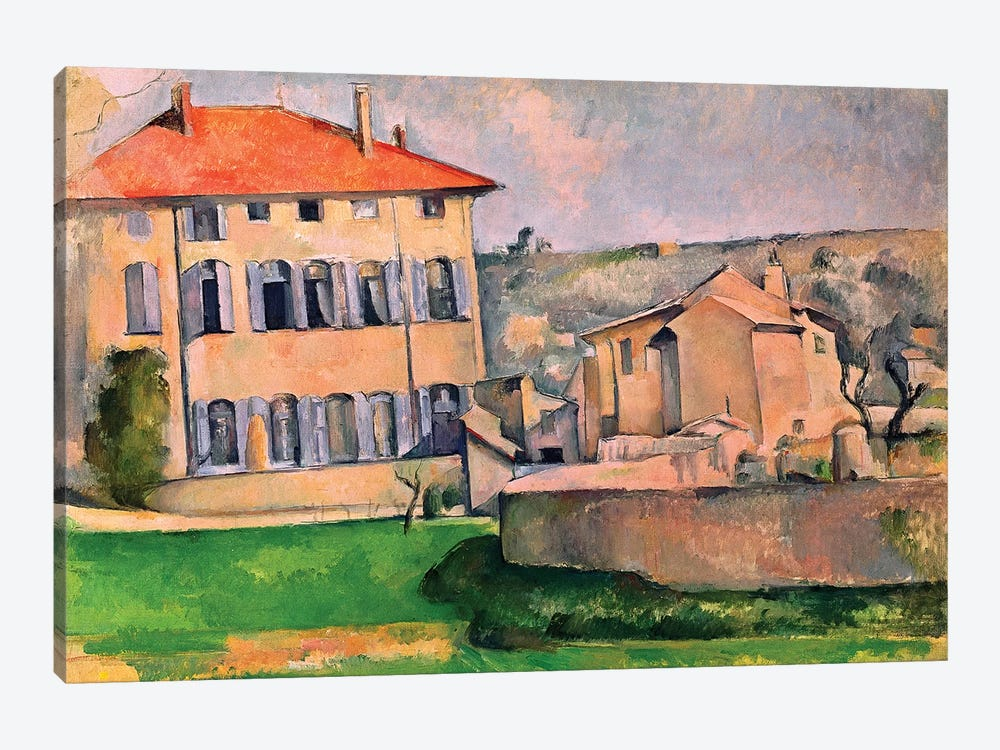 Jas de Bouffan, 1885-87  by Paul Cezanne 1-piece Canvas Art