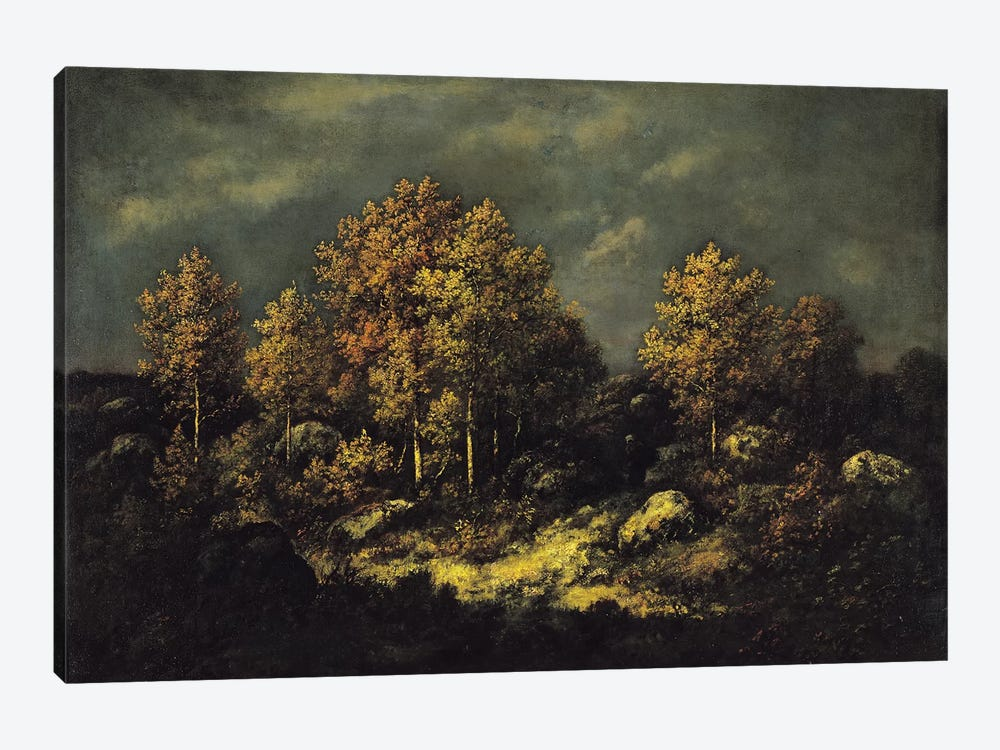 The Jean de Paris Heights in the Forest of Fontainebleau, 1867  1-piece Art Print