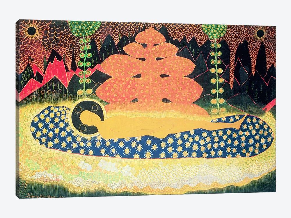 Composition, 1908  by Kazimir Severinovich Malevich 1-piece Canvas Artwork