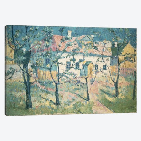 Spring, 1904  Canvas Print #BMN1274} by Kazimir Severinovich Malevich Canvas Art