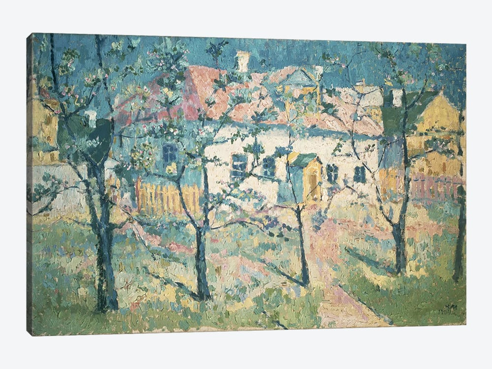 Spring, 1904  by Kazimir Severinovich Malevich 1-piece Canvas Print