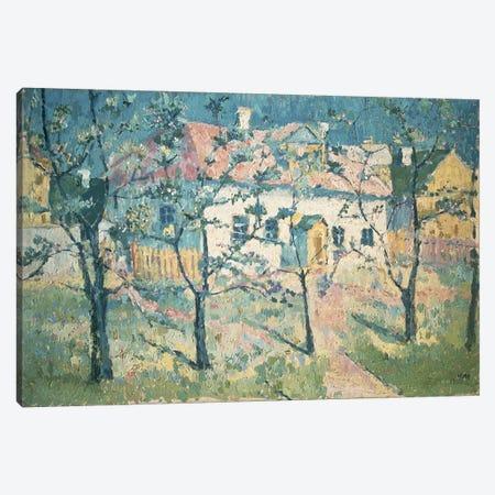 Spring, 1904  Canvas Print #BMN1274} by Kazimir Severinovich Malevich Canvas Art