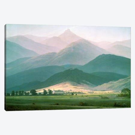 Landscape in the Riesengebirge, 1810-11  Canvas Print #BMN1275} by Caspar David Friedrich Canvas Artwork