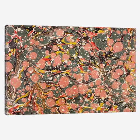 Decorative end paper (colour litho) I Canvas Print #BMN127} by English School Canvas Art