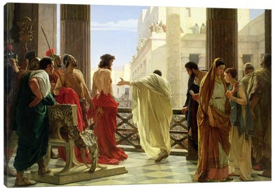 Ecce Homo  Canvas Art Print