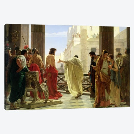 Ecce Homo  Canvas Print #BMN1283} by Antonio Ciseri Canvas Artwork