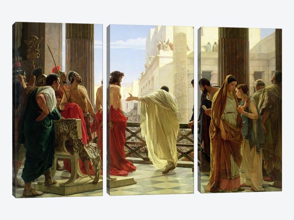 Ecce Homo  by Antonio Ciseri 3-piece Art Print