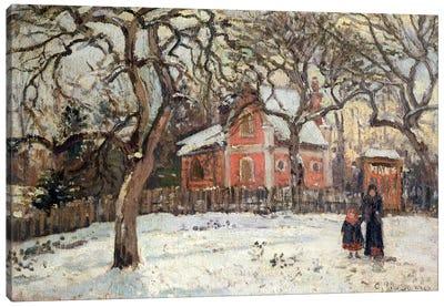Chestnut Trees at Louveciennes, c.1871-2  Canvas Art Print