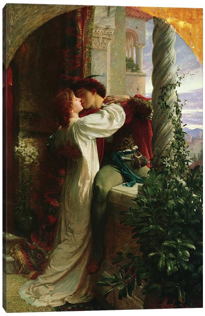Romeo and Juliet, 1884  Canvas Art Print