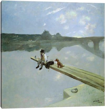 The Fisherman, 1884  Canvas Art Print