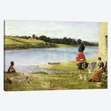 Flowing to the Sea, 1871  Canvas Print #BMN1291} by Sir John Everett Millais Art Print