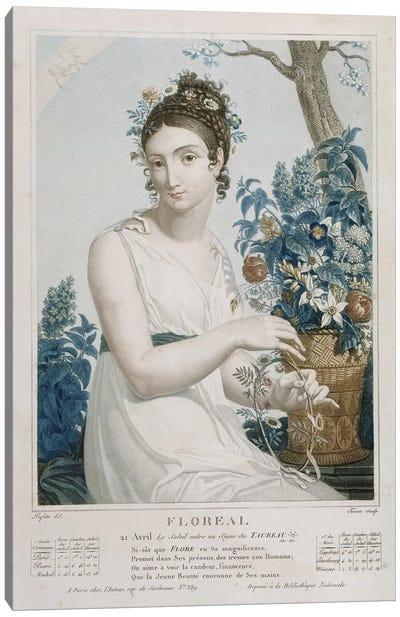 Floreal  Canvas Art Print