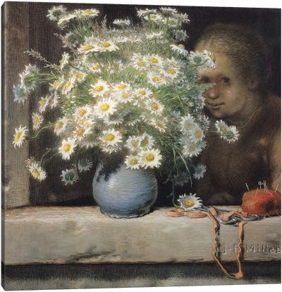 The Bouquet of Margueritas, 1866  Canvas Art Print