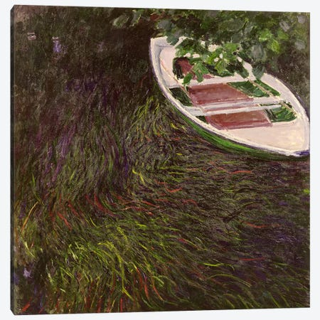 The Rowing Boat, c.1889-1890  Canvas Print #BMN1307} by Claude Monet Canvas Artwork