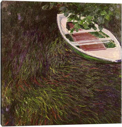 The Rowing Boat, c.1889-1890 Canvas Art Print