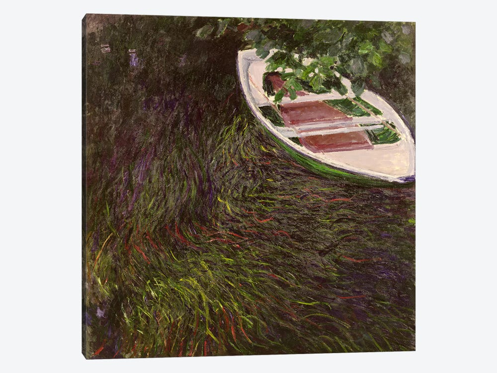 The Rowing Boat, c.1889-1890 by Claude Monet 1-piece Canvas Art
