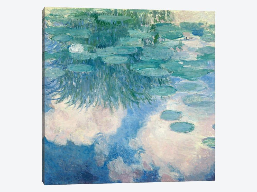 Waterlilies, 1914-17   by Claude Monet 1-piece Canvas Art Print