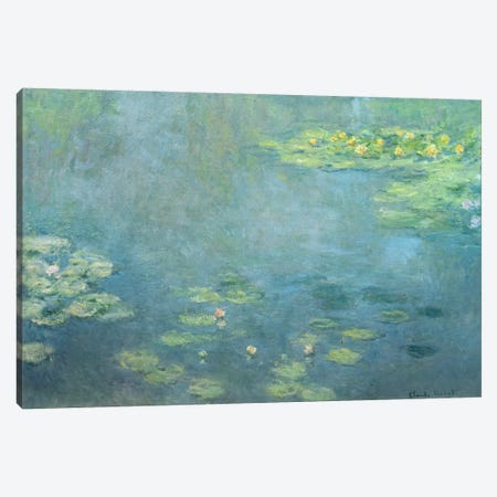 Waterlilies Canvas Print #BMN1310} by Claude Monet Canvas Wall Art