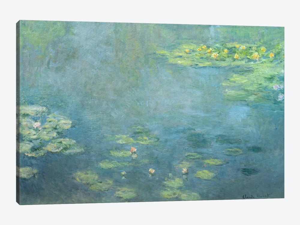 Waterlilies by Claude Monet 1-piece Canvas Art