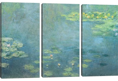 Waterlilies by Claude Monet Canvas Wall Art