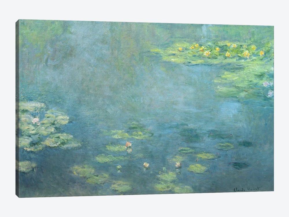 Waterlilies by Claude Monet 1-piece Canvas Art